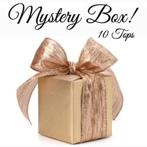 🖤🖤PLUS SIZE MYSTERY BOX- 10 TOPS 🎁 💝